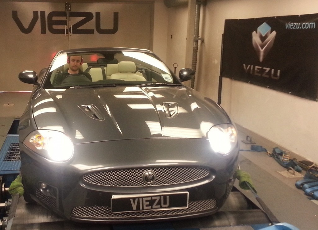 Jaguar XKR 4.2 Tuning and Jaguar XKR 4.2 performance upgrades Viezu