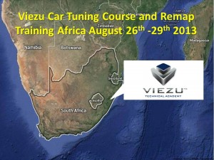 Car tuning and car tuning training in South Africa 2013
