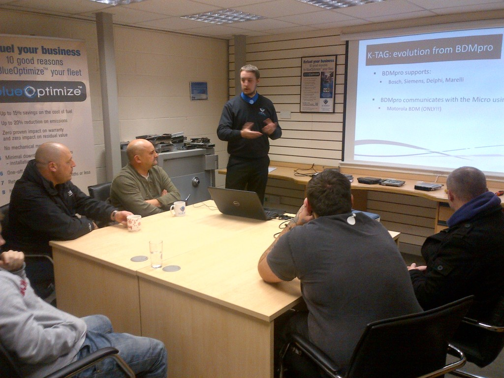 Alientech K-TAG Training With Viezu