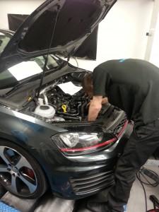 VW GOLF GTI remap