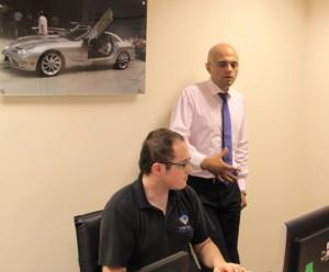 Sajid Javid visits car tuning Company Viezu