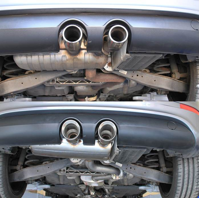 golf r32 exhaust